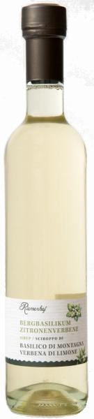 Basilikum - Zitronenverbene- sirup - Riemerhof