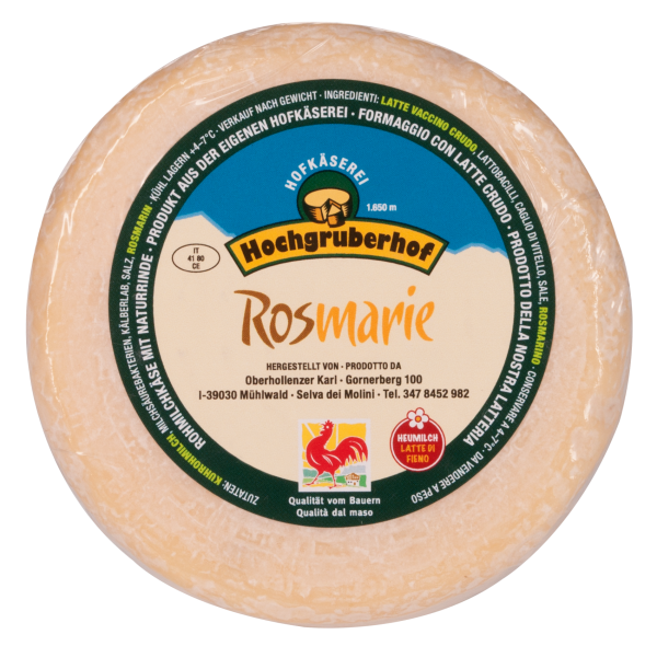 Rosmarinkäse Rosmarie - Hochgruberhof