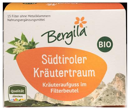 Südtiroler Kräutertraum Tee Bio