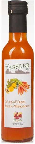 Wildquitte-Karottensirup - Fasslerhof
