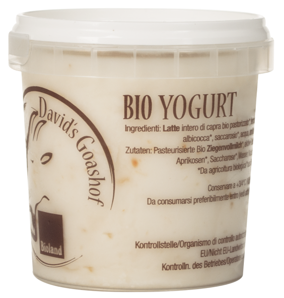 Ziegenjoghurt Getreide Bio