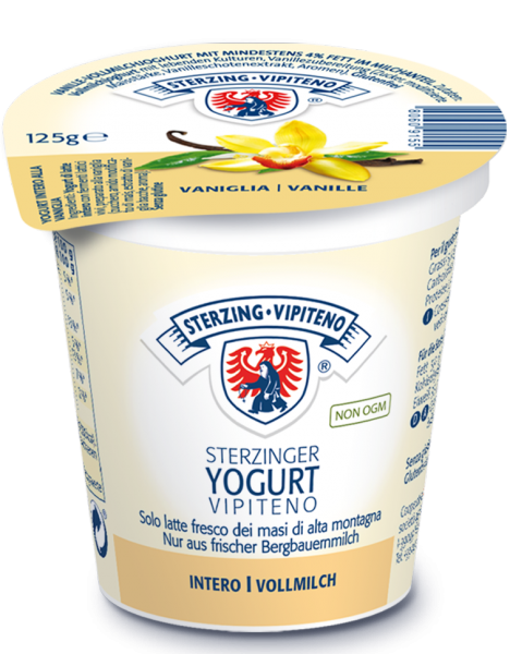 Vanille Vollmilchjoghurt - Milchhof Sterzing