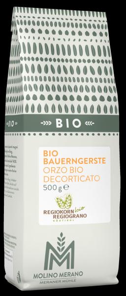Bauerngerste Bio Regiokorn Bio - Meraner Mühle