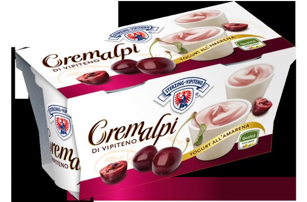 Sauerkirsche Joghurt Cremalpi