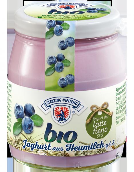 Heidelbeer Vollmilchjoghurt aus Heumilch Bio