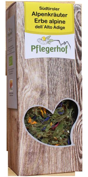 Südtiroler Alpenkräuter Tee Bio