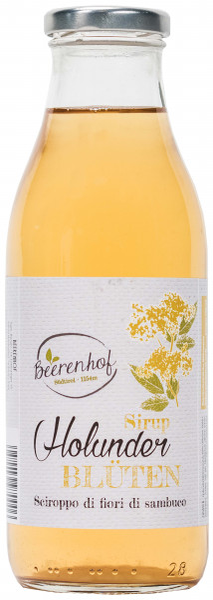 Holunderblütensirup - Beerenhof