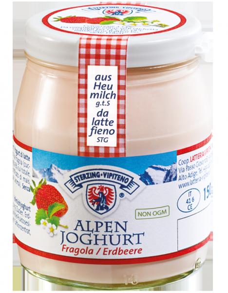 Erdbeere Alpenjoghurt - Milchhof Sterzing