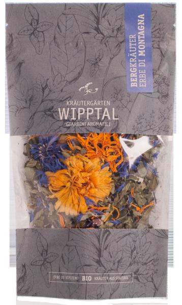 Bergkräuter Tee Bio - Kräutergarten Wipptal