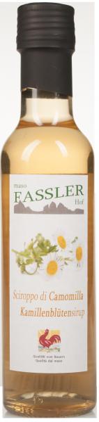 Kamillenblütensirup - Fasslerhof