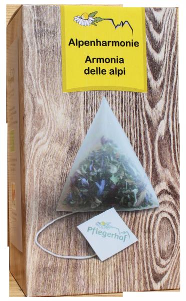 Kräutertee Alpenharmonie Pyramidenbeutel Bio - Pflegerhof