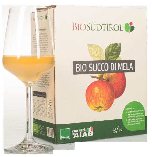Apfelsaft Naturtrüb Bio Bag in Box