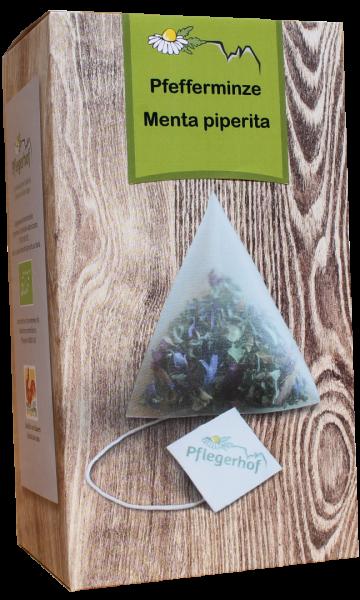 Kräutertee Pfefferminztee Pyramidenbeutel Bio - Pflegerhof