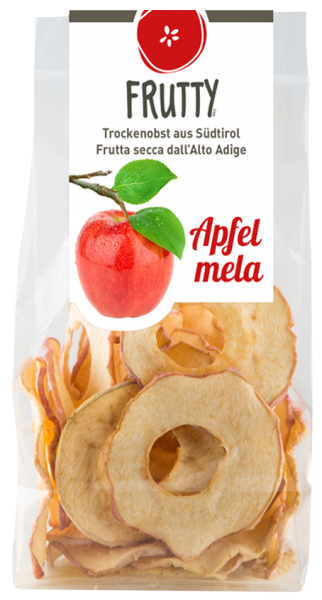 Getrocknete Äpfel - Frutty