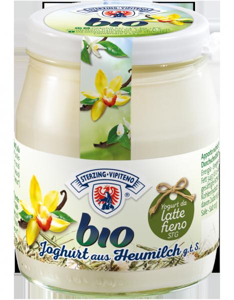 Vanille Vollmilchjoghurt aus Heumilch Bio